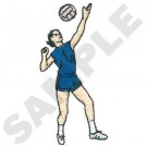 Vrouw volleybal